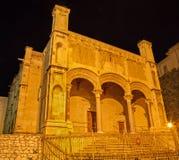 巴勒莫-教会圣玛丽亚della锁链 免版税库存照片