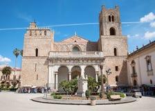 巴勒莫- Monreale大教堂 库存图片