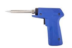 包含一杆焊接的枪的焊接的设备 库存图片