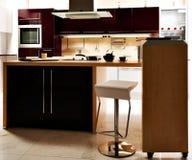 优等的厨房 免版税库存照片