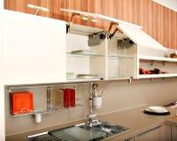 美丽的厨房 图库摄影