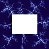 包围的闪电附注 向量例证