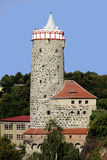 包岑老供水系统在萨克森-德国 免版税库存照片