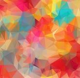包括三角的抽象背景 抽象背景马赛克 抽象白色多角形马赛克背景,传染媒介illust 皇族释放例证