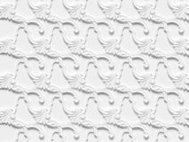 包括建筑装饰和装饰产品的各种各样的元素浅浮雕无缝的纹理 向量例证