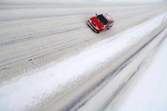 包括的大道雪 库存照片