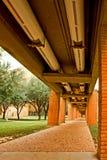 包括的室外管道走道 免版税库存图片