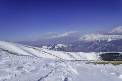 包括的山雪 33c 1月横向俄国温度ural冬天 图库摄影