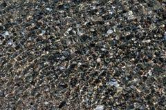 包括的岩石水 库存照片