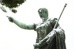 包括的皇帝雪雕象 库存照片