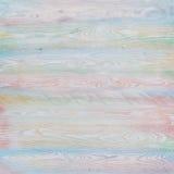 包括水平的板条的多颜色木背景 免版税图库摄影