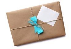 包装纸包裹 免版税库存照片