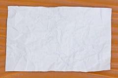 包装纸白色木头 免版税库存图片