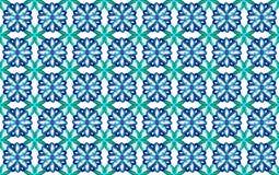 包装纸设计绿松石和蓝色 库存图片