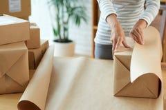 包裹箱子 图库摄影