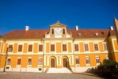 匈牙利主教宫殿佩奇 免版税库存照片