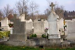 匈牙利公墓 免版税图库摄影