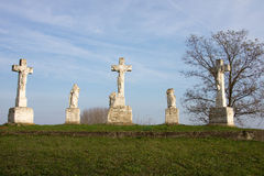 匈牙利公墓 免版税库存图片