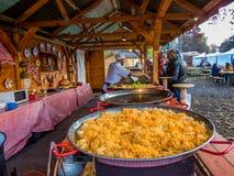 匈牙利厨师 库存图片