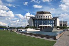 匈牙利国家戏院 免版税库存图片