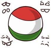 匈牙利国家球 库存例证