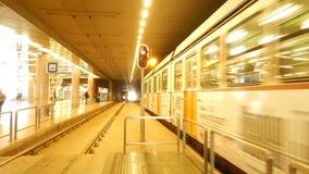 匈牙利地铁 库存照片