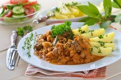 匈牙利墩牛肉 免版税库存图片