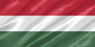 匈牙利旗子 向量例证