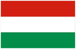 匈牙利旗子 皇族释放例证