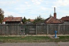 匈牙利村庄 免版税库存图片