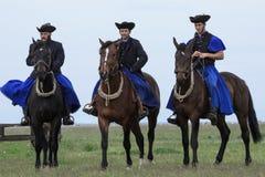 匈牙利牛仔 免版税库存照片
