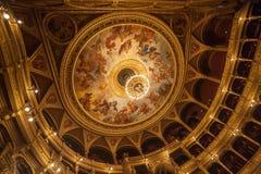 匈牙利状态歌剧布达佩斯 免版税库存照片