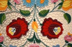 从匈牙利的刺绣 免版税库存图片