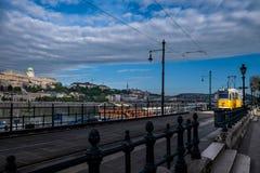 匈牙利的首都由多瑙河横渡的布达佩斯 库存图片