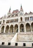 匈牙利议会大厦在布达佩斯,匈牙利,文化她 库存照片