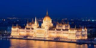 匈牙利议会大厦 布达佩斯普遍的地标  免版税库存图片