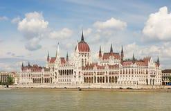 匈牙利议会大厦 免版税图库摄影