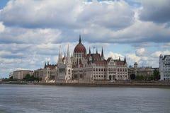 匈牙利议会,布达佩斯,匈牙利 免版税图库摄影