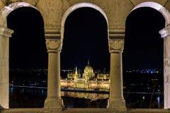 匈牙利议会 库存照片