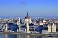 匈牙利议会 图库摄影
