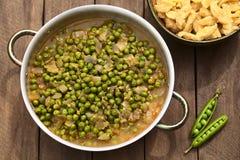 匈牙利豌豆炖煮的食物 库存照片