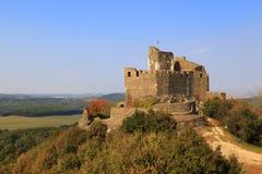 匈牙利 13世纪中世纪城堡 库存照片