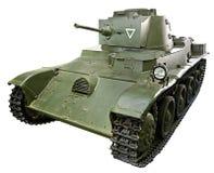 匈牙利轻型坦克Toldi被隔绝的38M 免版税库存照片