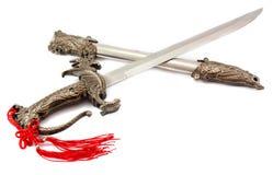 匕首 免版税库存照片
