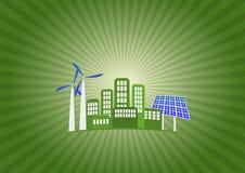 绿化城市 库存照片