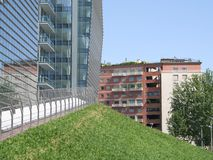 绿化城市 免版税库存照片