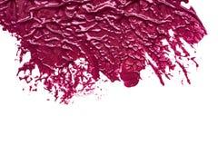 化妆产品污迹油漆  免版税库存图片