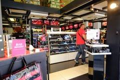 化妆用品商店在罗马 库存照片