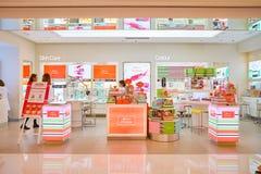 化妆用品在香港存放 免版税库存图片
