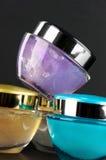 化妆用品提取乳脂 免版税图库摄影